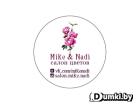 Логотип компании Салон цветов Mike i Nadi