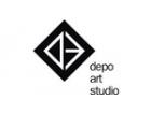 Логотип компании Школа дизайна и искусств для взрослых и детей АртДепоСтудия